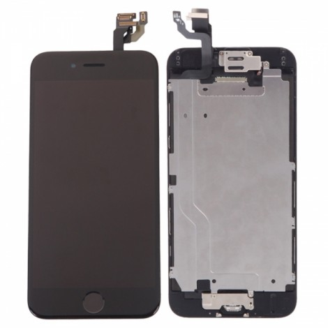 LCD Touch Screen Assembly with Full Components for iPhone 6 Black