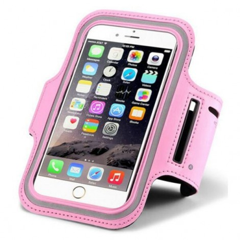 Waterproof Sports Cellphone Bag Arm Band Case for iPhone6/6S Pink