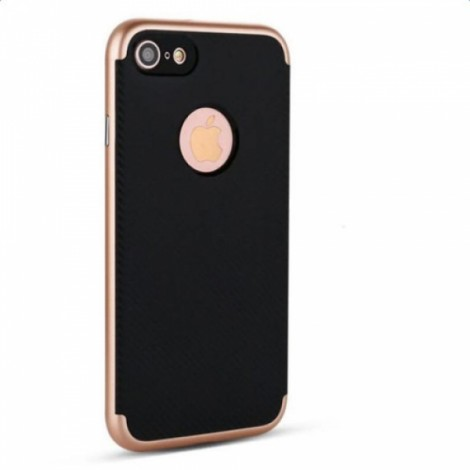 2-in-1 TPU & PC Dual Protection Shockproof Bumblebee Case for iPhone 7 Golden
