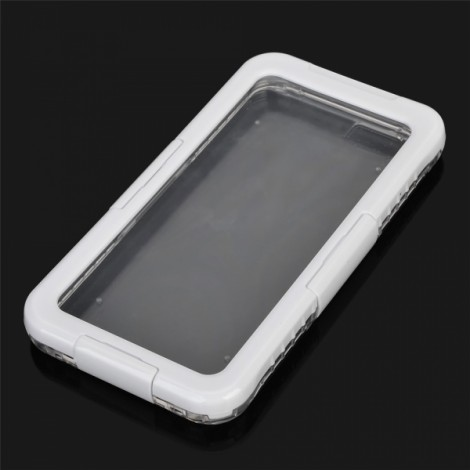Waterproof Heavy Duty Protective Diving Case with Strap for iPhone 7 White
