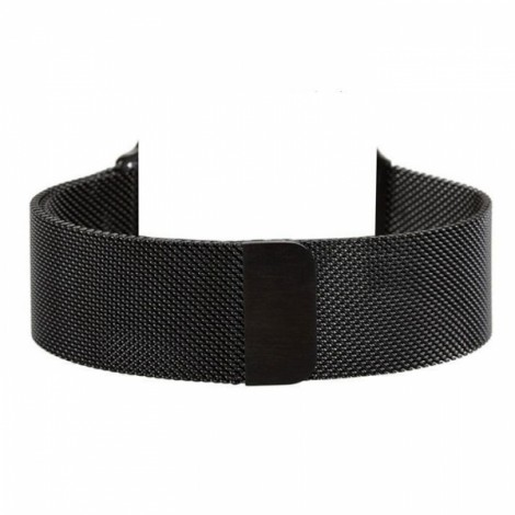 Milanese Magnetic Loop Stainless Steel Strap Watch Band for Apple Watch 42mm Black