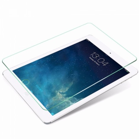 0.28mm Thickness Tempered Glass Screen Protector with 9H Hardness for iPad Air 2 Straight Edge