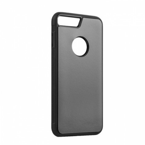 Anti-Gravity Magic Selfie Sticky Nano Protective Shockproof Case for iPhone 6 Plus/iPhone 6S Plus-Black