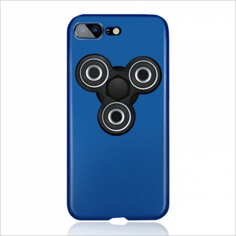 Finger Spinner Decompression Gyro Blue For iPhone 7 Plus