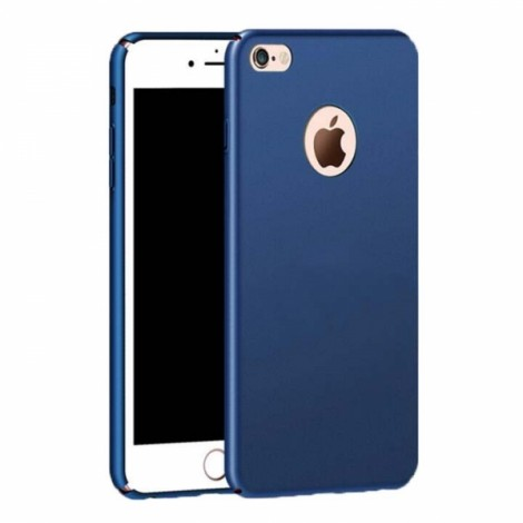 Ultra-thin Matte Resistant Hard PC Case for iPhone 7/iPhone 8 - Blue