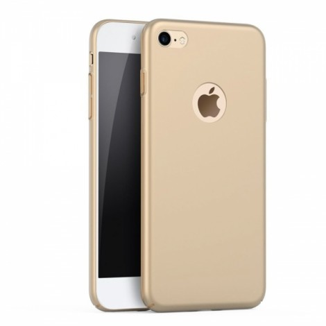 Ultra-thin Matte Resistant Hard PC Case for iPhone 7/iPhone 8 - Golden