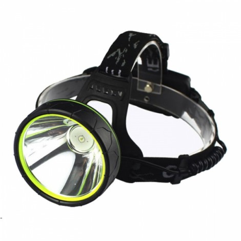 ShineFire Rechargeable 10W 2 Modes TD3 White Light LED Headlight for Mining Camping Hiking Fishing Black