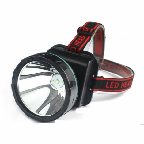 ShineFire Rechargeable T6 10W 2 Modes TD10 Yellow Light LED Headlight for Mining Camping Hiking Fishing Black & Green