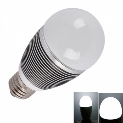 E27 5W 6000K High Power Globe LED Light Bulb (85-265V)