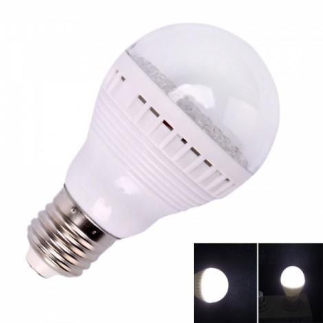 E27 3W 60 LED White Light LED Bulb Lamp (110V)