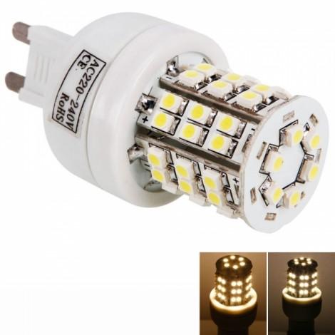 G9 4W 48 LED SMD3528 3000K Warm White Light Corn Lamp (220V)