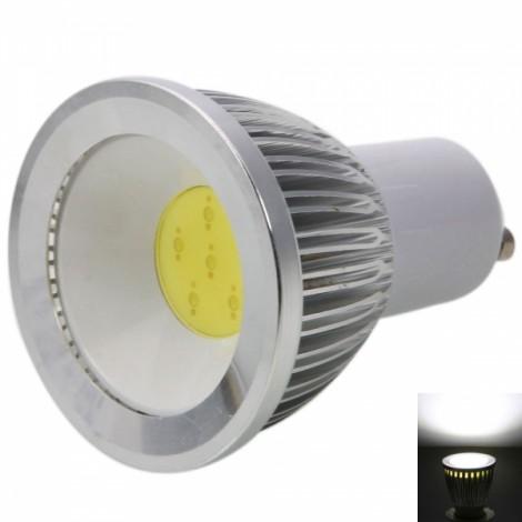 GU10 3W 240-270LM 5500-6500K White Dimmable LED Spotlight Bulb (220V)