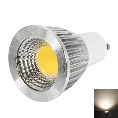 GU10 9W 400-450LM 2800-3200K Warm White Light Dimmable COB LED Spot Light Bulb (110V)