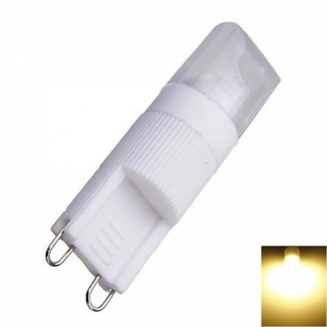 G9 5W 1 x COB 270LM 2800-3200K Warm White Light Dimmable LED Corn Lamp (AC220)