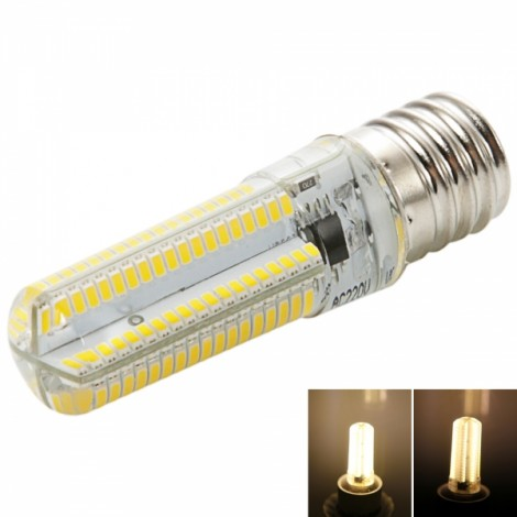 E17 7W 152-LED 3014 SMD 3000-3500K Warm White Light Adjustable Silica Gel Corn Light (200-240V)