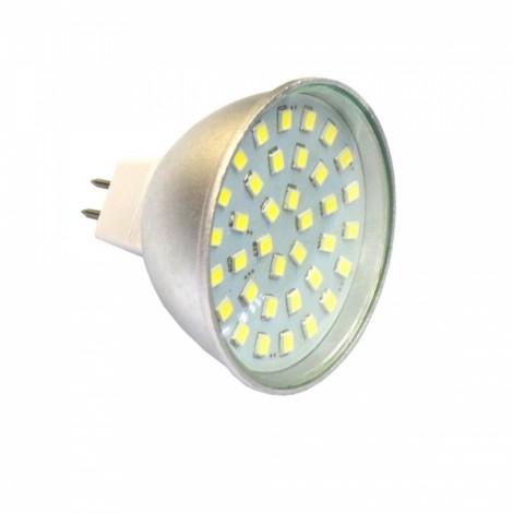 MR16 3W 6000K 300LM 36-2835SMD Cool White LED Spotlight (AC10-30V)