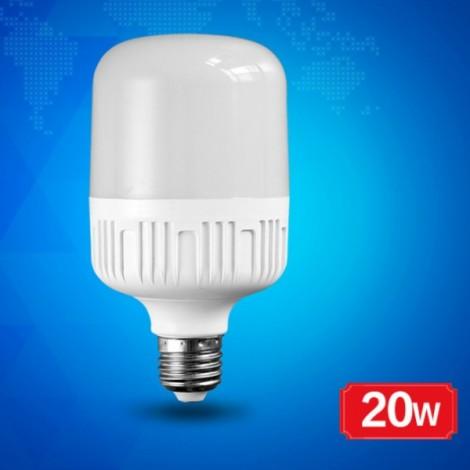 20W E27 Constant Current Flat Head Ultra Warm White Light Bulb White (220V)