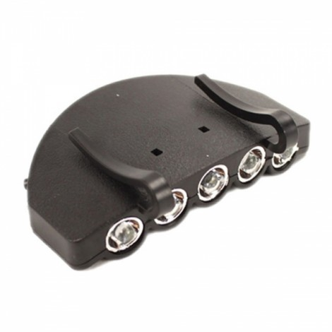 5 LED Power-saving Cap Light