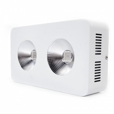 2*200W COB Full Spectrum Indoor LED Grow Light US Standard White