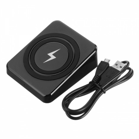 Cwxuan Superior Anti-slip Qi Standard Wireless Charger Black