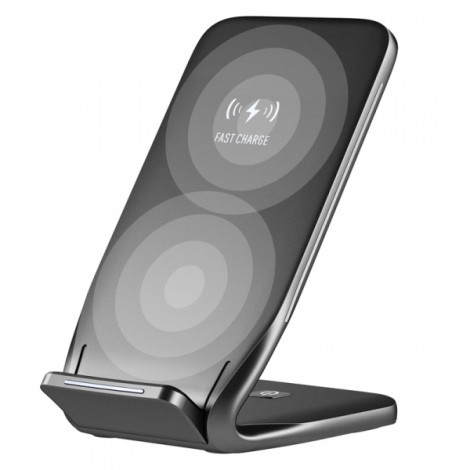 ROCK W3 Qi Wireless Fast Charging Charger Cellphone Dock Station for iPhone X 8/8Plus Samsung HTC