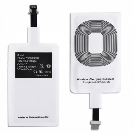 Qi Wireless Charging Receiver Patch Module for iPhone