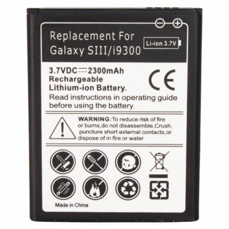 2300mAh Battery for Samsung Galaxy SIII S3 I9300