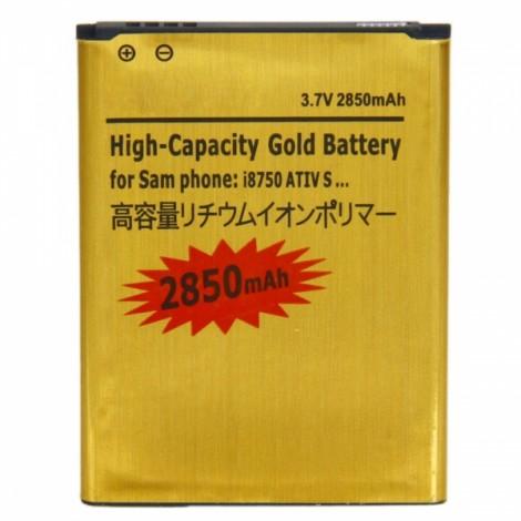 2850mAh Battery for Samsung I8750 ATIV S Golden