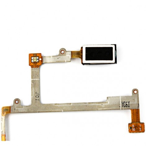 Replacement Part Ear Speaker Earpiece/Side Key/Volume Button Flex Cable for Samsung Galaxy S3 i9300 Black