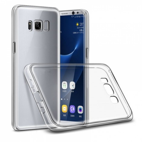 Ultrathin Soft Transparent TPU Shockproof Dropproof Back Case for Samsung Galaxy S8