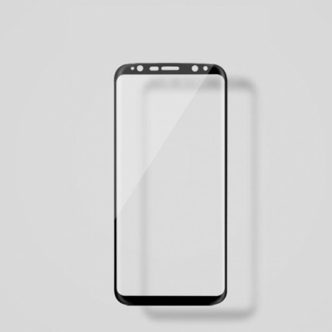 NILLKIN  3D CP+ MAX Tempered Glass Full Coverage Film Screen Protector for Samsung Galaxy S8+ Black & Transparent