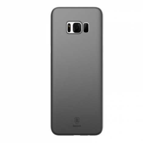 Baseus PP 0.4mm Ultra-thin Yellowing-Resistant Full Back Cover Case for Samsung Galaxy S8 - Clear Black