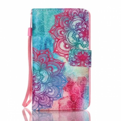 Leather Wallet Flip Case Soft Cover For Samsung Galaxy S8 - Pattern 10