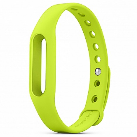 Xiaomi Smart Replacement Silicone Bracelet Wrist Band Yellow Green