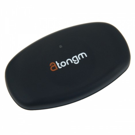 Atongm Bluetooth V4.0 40-240bpm Heart Rate Transmitter Black