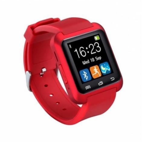 U80 Smart Bluetooth Watch Call Message Reminder Sleep Monitor Red
