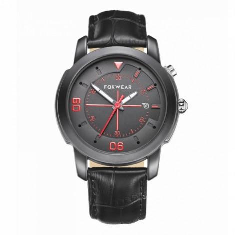 FOXWEAR Y22 Waterproof Bluetooth Smart Traditional Quartz Watch Black