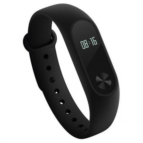 Original Xiaomi Miband 2 OLED Display Heart Rate Monitor Bluetooth Smart Wristband Bracelet Black