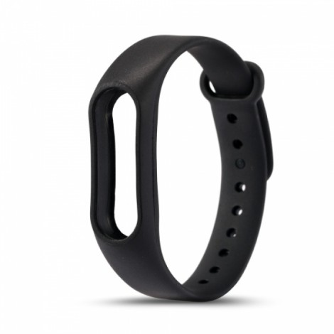 Xiaomi Replacement Silicone Wrist Strap Wrist Band for XIAOMI MI Band 2 Black