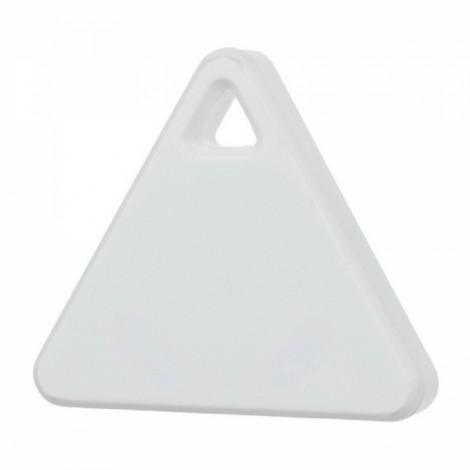 Triangle Bluetooth Smart Mini Tag Tracker Pet Child Wallet Key Finder GPS Locator Alarm White