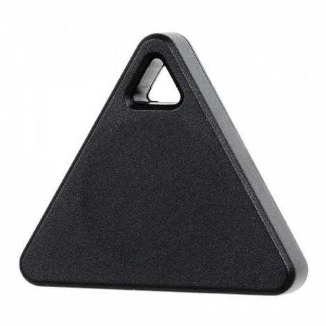 Triangle Bluetooth Smart Mini Tag Tracker Pet Child Wallet Key Finder GPS Locator Alarm Black