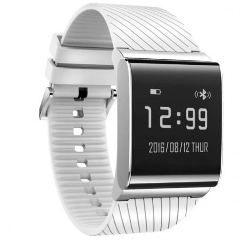 X9 Plus Waterproof Smart Bracelet Blood Pressure Blood Oxygen Heart Rate Watch White