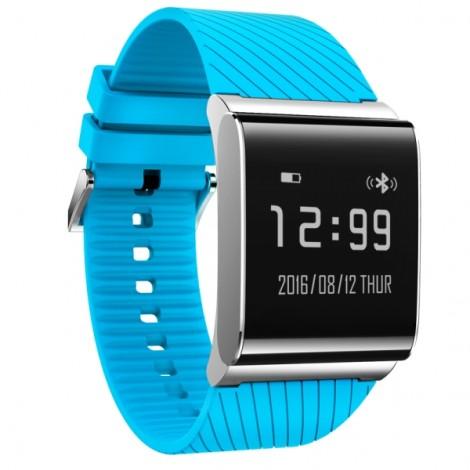 X9 Plus Waterproof Smart Bracelet Blood Pressure Blood Oxygen Heart Rate Watch Blue