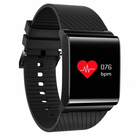 X9pro Touch Bright OLED Screen Smart Sport Bracelet Heart Rate Blood Oxygen Watch Black