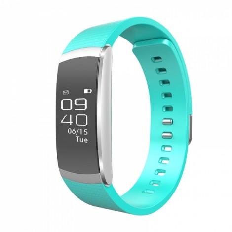 iWOWNfit i6 Pro Fitness Tracker Heart Rate Monitor Smart Watch - Green