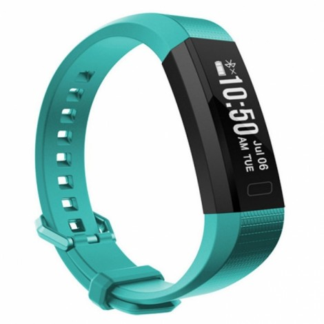 Y11 Sport Pedometer Heart Rate Waterproof BT4.0 Smart Bracelet Blue