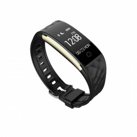 CHIGU S2 Smart Bracelet Blood Pressure/Heart Rate Monitor Band- Black