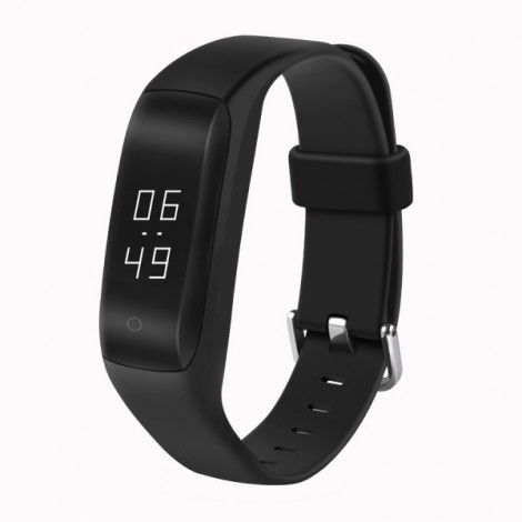 C1 Heart Rate Monitor Sports Smart Bracelet Watch for Android IOS - Black