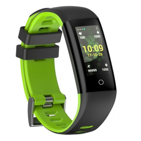 G16 Multi-locomotion Modes Waterproof Bluetooth 4.0 OLED Screen Smart Bracelet Green
