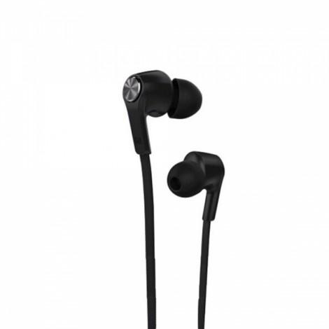 Xiaomi 3.5mm Plug In-ear Earphones with Mic & Earmuffs for Xiaomi / iPhone / iPad Black